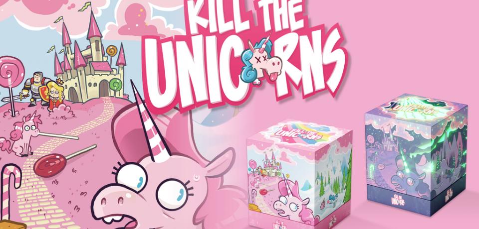 Kill the Unicorns (Chorvot/Fondrille/Besnard/Prewitt) financement participatif [kickstarter jusqu'au 21 décembre]